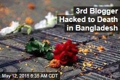 3rd Atheist Blogger Hacked Down in Bangladesh