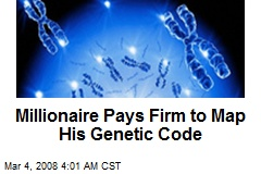 Millionaire Pays Firm to Map His Genetic Code