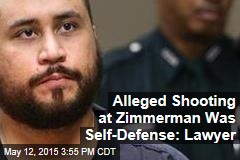 Lawyer: Alleged Shot at Zimmerman Was in Self-Defense
