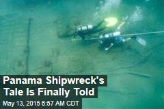 Panama Shipwreck's Tale Is Finally Told