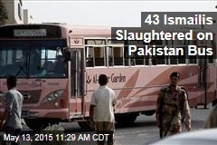 43 Ismailis Slaughtered on Pakistan Bus