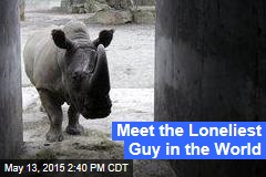 Meet the Loneliest Guy in the World