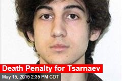 Death Penalty for Tsarnaev