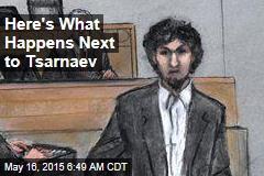 Here's What Happens Next to Tsarnaev