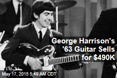 George Harrison's '63 Guitar Sells for $490K