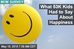 What 53K Kids Had to Say About Happiness