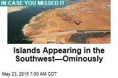Islands Appearing in the Southwest—Ominously