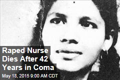 Raped Nurse Dies After 42 Years in Coma
