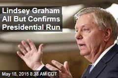 Lindsey Graham All But Confirms Presidential Run