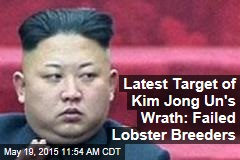 Latest Target of Kim Jong Un's Wrath: Failed Lobster Breeders