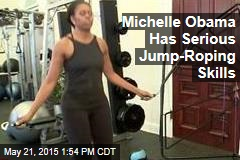 Michelle Obama Has Serious Jump-Roping Skills