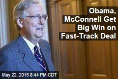 Obama, McConnell Get Big Win on Fast-Track Deal