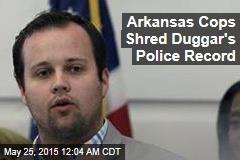 Arkansas Cops Shred Duggar's Police Record