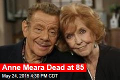 Anne Meara Dead at 85