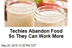 Techies Abandon Food So They Can Work More
