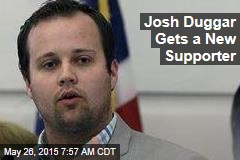 Josh Duggar Gets a New Supporter