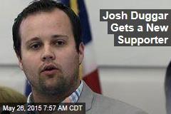 Josh Duggar Gets a New Supporter