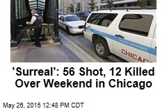 'Surreal': 56 Shot, 12 Killed Over Chicago Weekend