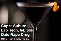 Cops: Auburn Lab Tech, 64, Sold Date Rape Drug