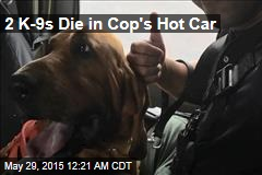 2 K9s Die in Cop's Hot Car
