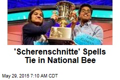 'Scherenschnitte' Spells Tie in National Bee