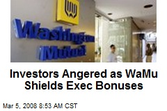 Investors Angered as WaMu Shields Exec Bonuses