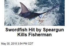 Swordfish Kills Fisherman Who Fired Speargun