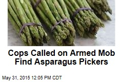 Cops Called on Armed Mob Find Asparagus Pickers