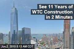 See 11 Years of WTC Construction in 2 Minutes