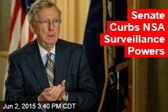 Senate Curbs NSA Surveillance Powers