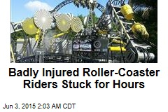 Badly Injured Roller Coaster Riders Stuck for Hours