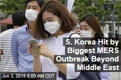 S. Korea Hit by Biggest MERS Outbreak Beyond Middle East