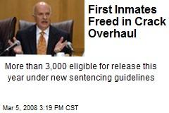 First Inmates Freed in Crack Overhaul