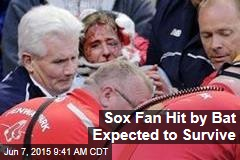 Sox Fan Hit by Bat Expected to Survive