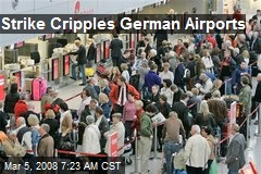 Strike Cripples German Airports