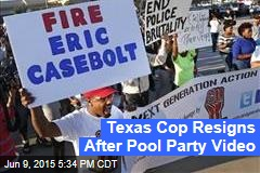 Texas Cop Resigns After Pool Party Video