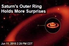 Saturn's Outer Ring Holds More Surprises