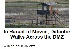 In Rarest of Moves, Defector Walks Across the DMZ