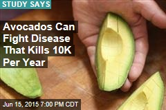 Avocados Can Fight Disease That Kills 10K Per Year
