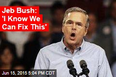 Jeb Bush: 'We Will Take Washington'