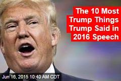 Trump: I'll Be 'Greatest Jobs President God Ever Created'