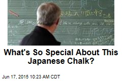 What's So Special About This Japanese Chalk?