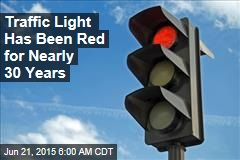 Traffic Light Has Been Red for Nearly 30 Years
