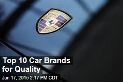 Top 10 Car Brands for Quality
