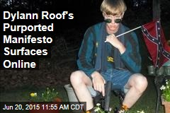 Dylann Roof's Purported Manifesto Surfaces Online