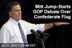 Mitt Jump-Starts GOP Debate Over Confederate Flag