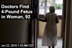 50-Year-Old Fetus Found in Woman's Abdomen
