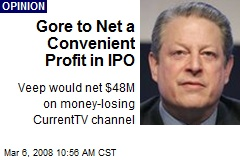 Gore to Net a Convenient Profit in IPO