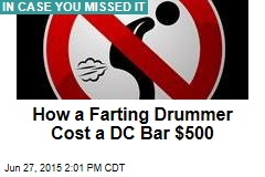 How a Farting Drummer Cost a DC Bar $500