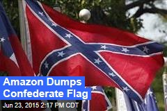 Amazon Dumps Confederate Flag